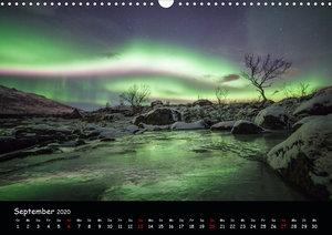 Nordlichtkalender (Wandkalender 2020 DIN A3 quer)