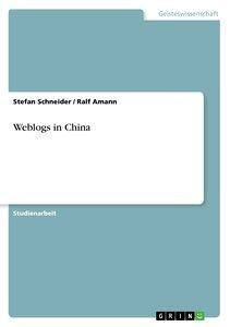 Weblogs in China