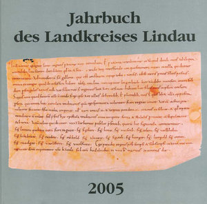 Jahrbuch des Landkreises Lindau 2005