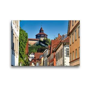 Premium Textil-Leinwand 45 cm x 30 cm quer Der dicke Turm der Es