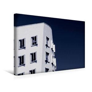 Premium Textil-Leinwand 45 cm x 30 cm quer Düsseldorf