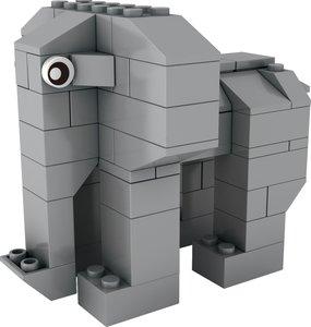STAX HYBRID ANIMALS- Trumpeting Elephant