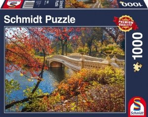 Spaziergang im Central Park, New York, 1.000 Teile Puzzle