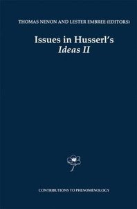 Issues in Husserl's Ideas II