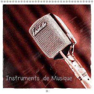 Instruments de Musique (Calendrier mural 2015 300 × 300 mm Squar
