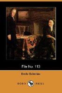 File No. 113 (Dodo Press)