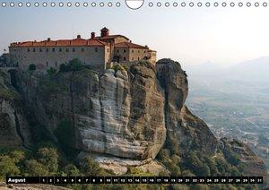 Metéora Monasteries between Heaven and Earth / UK-Version (Wall