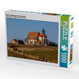 Maria im Weingarten bei Volkach 1000 Teile Puzzle quer