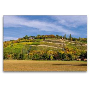 Premium Textil-Leinwand 120 cm x 80 cm quer Steillagen bei Naumb