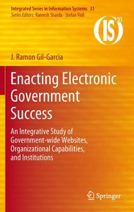 Enacting Electronic Government Success