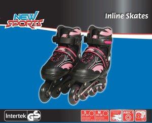 NSP Inliner Pink, ABEC 7, Gr. 31-34