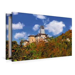 Premium Textil-Leinwand 120 cm x 80 cm quer Kipfenberger Schloss