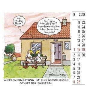 Jungfrau Minikalender 2019