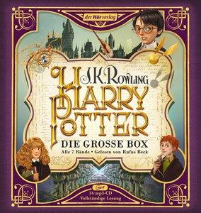 Harry Potter. Die große Box. Alle 7 Bände.