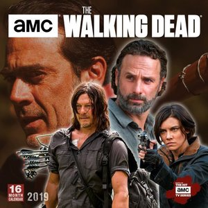 The Walking Dead Amc 2019 Square Wall Calendar