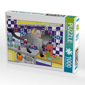 Hunger 1000 Teile Puzzle quer
