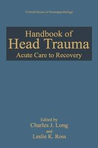 Handbook of Head Trauma