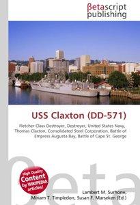 USS Claxton (DD-571)