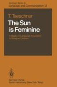The Sun is Feminine