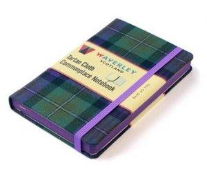 Waverley Scotland Large Tartan Cloth Commonplace Notebook - Isle