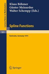 Spline Functions