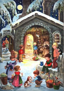 "Adventskalender ""Am Stall\"""