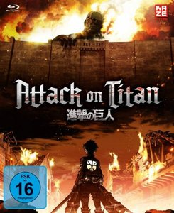 Attack on Titan - 1. Staffel - Gesamtausgabe (4 Blu-rays)