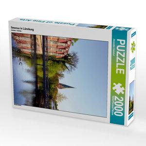 Ilmenau in Lüneburg 2000 Teile Puzzle hoch