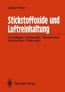 Stickstoffoxide und Luftreinhaltung