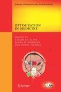 Optimization in Medicine