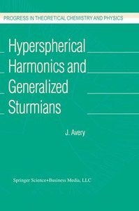 Hyperspherical Harmonics and Generalized Sturmians