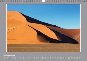 Namibia - Die Farben der Namib (Wandkalender immerwährend DIN A3
