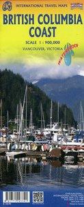 Topographische Karte Haida Gwaii / Queen Charlotte