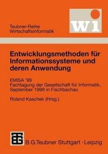 Entwicklungsmethoden für Informationssysteme und deren Anwendung