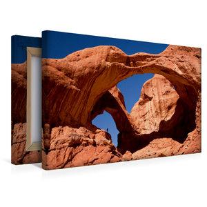 Premium Textil-Leinwand 45 cm x 30 cm quer Im Arches Nationalpar