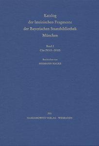 Catalogus codicum manu scriptorum Bibliothecae Monacensis. (Hand