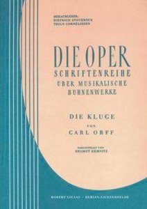Die Kluge / Die Oper