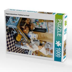 "CALVENDO Puzzle Puppenstubenträume \""Chefkoch am Herd\"" 1000 Tei"
