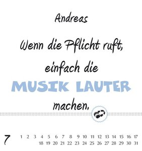 Namenskalender Andreas