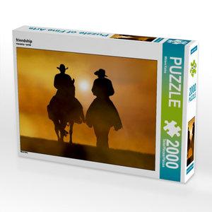 CALVENDO Puzzle friendship 2000 Teile Lege-Größe 90 x 67 cm Foto