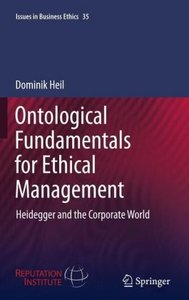 Ontological Fundamentals for Ethical Management
