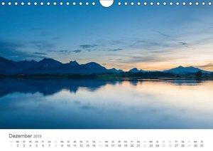 Alpine Seelandschaften (Wandkalender 2019 DIN A4 quer)