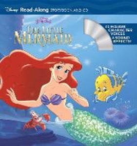 The Little Mermaid: Read-Along Storybook and CD