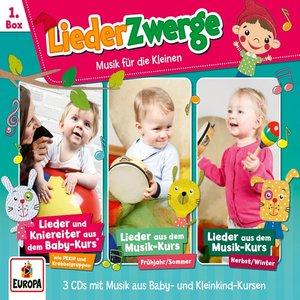 01/3er Box LiederZwerge (Pekip,Musik-Kurs Vol.1 &