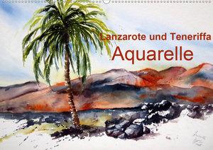 Lanzarote und Teneriffa - Aquarelle