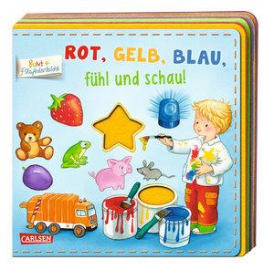 BUNT + Filzfederleicht®: Rot, Gelb, Blau, fühl und schau!