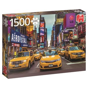 Jumbo 18527 - New York Taxi, Puzzle, 1500 Teile