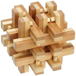 Philos 6059 - Lock Up Puzzle, Bambus