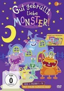 Gut gebrüllt, liebe Monster!. Tl.1, 1 DVD