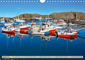 Schöne Häfen zwischen Island und Barbados